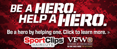 Sport Clips Haircuts of El Paso - Sunland​ Help a Hero Campaign